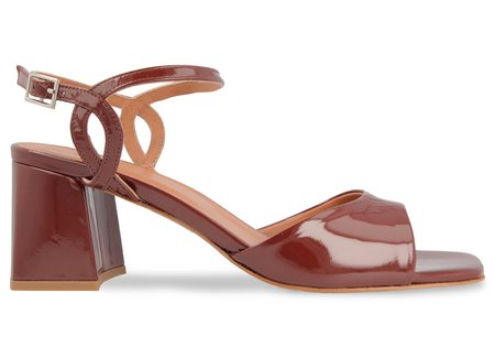 By Far Shoes Alana - Brown Patent Leather