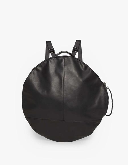 Unisex Côte & Ciel Moselle Alias Leather Backpack - Black Alias Leather