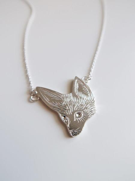 Invidiosa Jewelry Fennec Fox Necklace