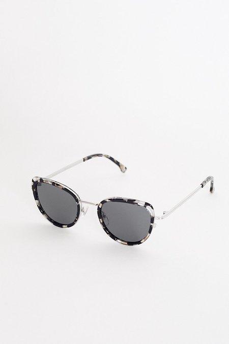 Unisex Komono Billie Sunglasses - Clear Demi