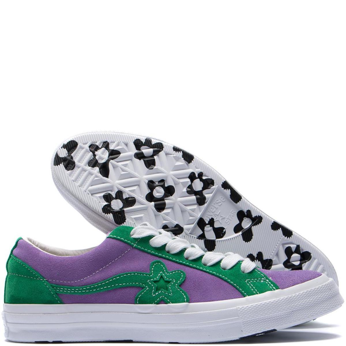 079abc0f39e Unisex Converse x Golf Le Fleur One Star GLF - Purple Heart