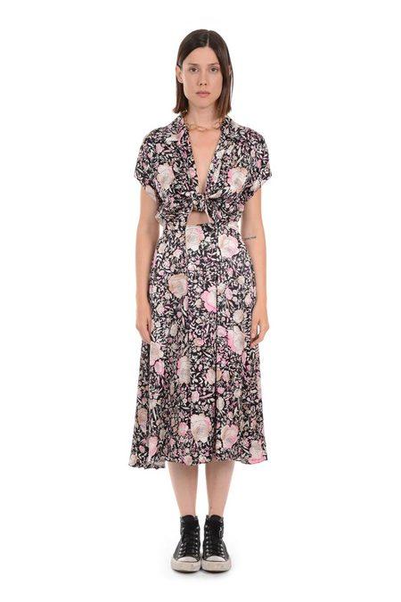 Lindsey Thornburg Spotted Rose Clark Dress - Floral