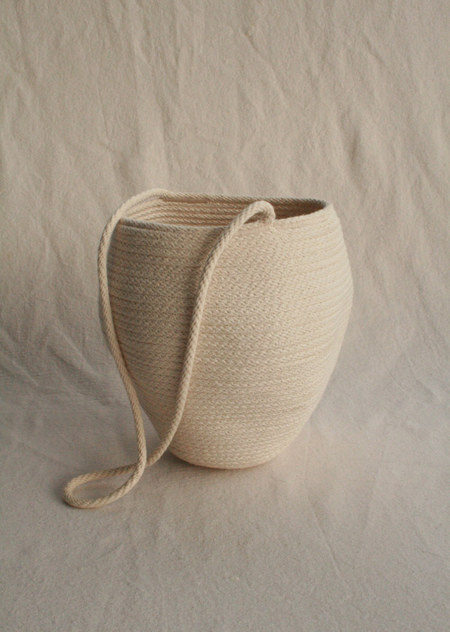 Catzorange BUCKET BAG - White