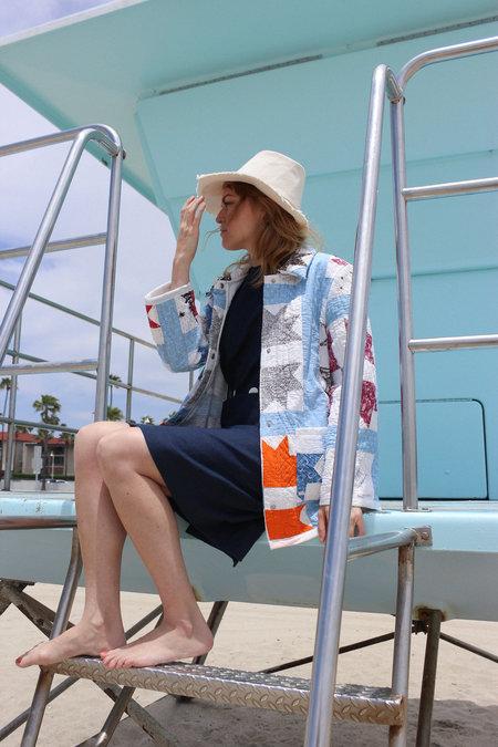 Vintage Carleen Quilt Moving Jacket - Blue