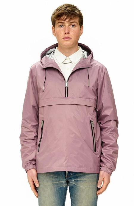 THE VERY WARM Popover Anorak Jacket - Mauve