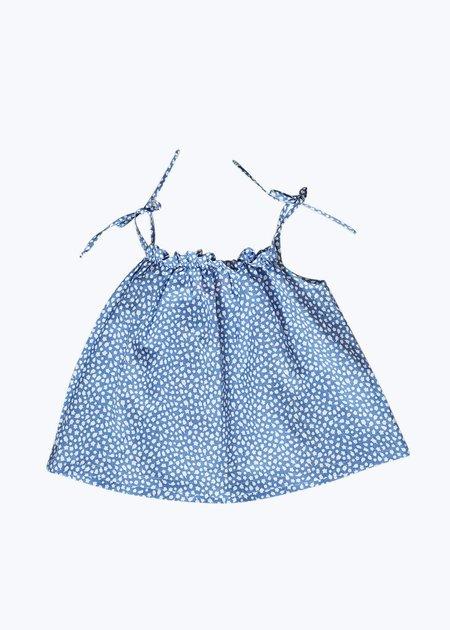 Kids Thomas Sires Baby Tank Set - Blue/White Garden
