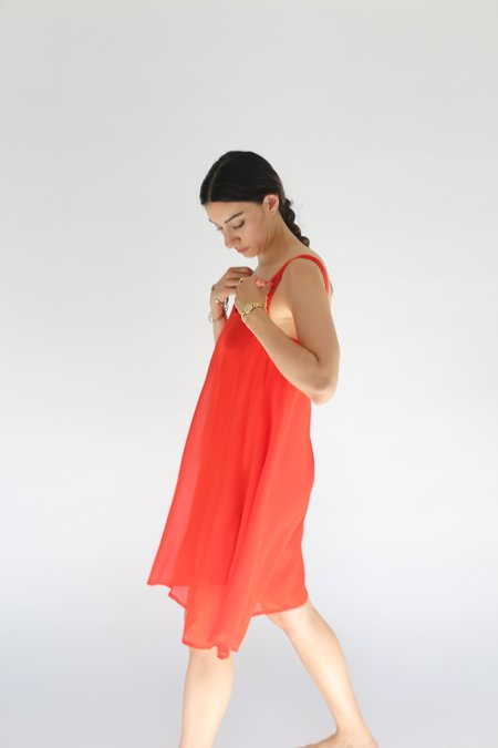 Lacausa Clara Mini Dress - Tomato