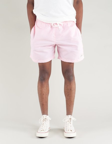 Bather Solid Swim Trunk - Pink