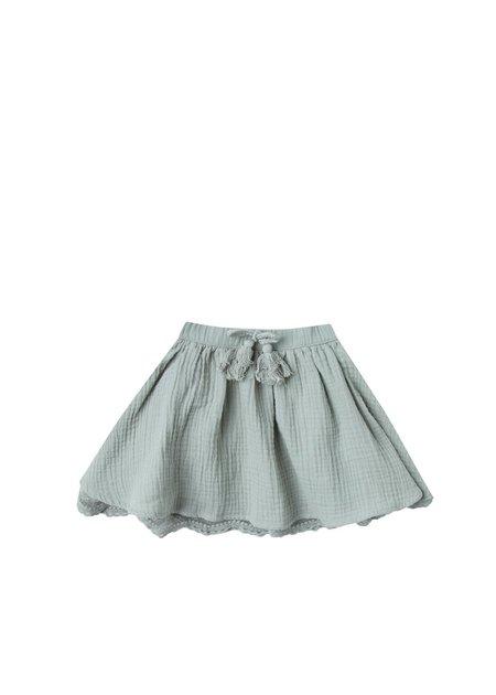 Kids Rylee and Cru Lace Skirt - Seafoam