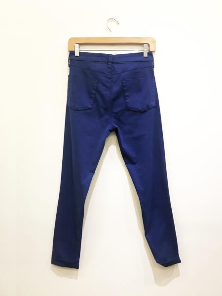 J Brand Anja Mid Rise Denim - Electric Blue