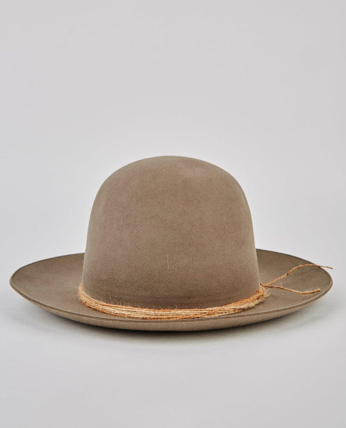 9cfb878c48a97 Super Duper Hatters Crew Holes Lapin Fur Felt Hat - Tan | Garmentory