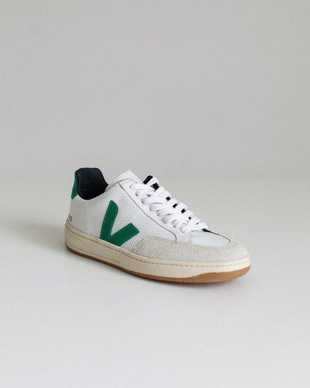 Veja V-12 Mesh Shoes - White/Green