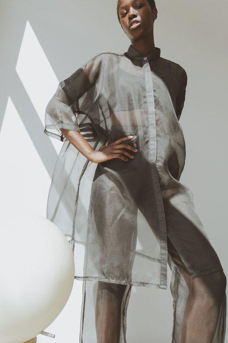 OR Organza Big Shirt - Grey