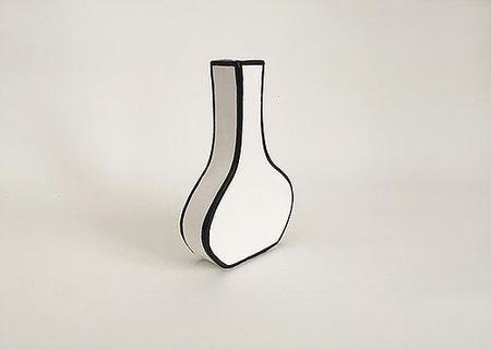 Alyssa Block Tall Drawn Vase