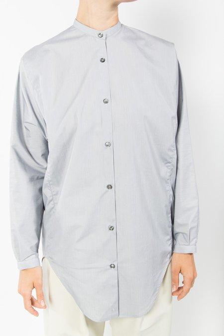 Studio Nicholson Teddy Shirt - Grey Stripe