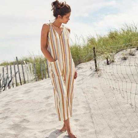 Wax and Cruz Cabiria Jumpsuit - 70s Stripe