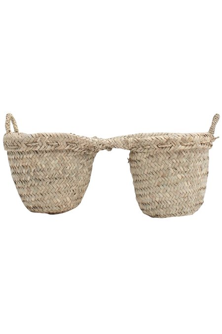 Bohemia Design Double Basket Planter