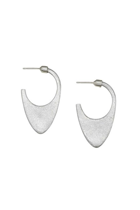 Article 22 Laos Dome Earring - SILVER