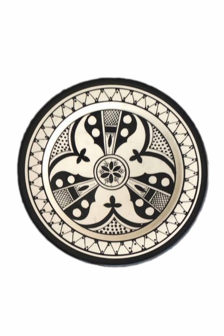 Atelier Boemia Safi Plates (Set of 4) - Black
