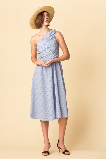 A.L.C. Cabrera Dress - Oxford Blue