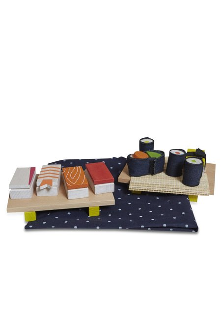 Kids Kukkai Wooden Sushi Set