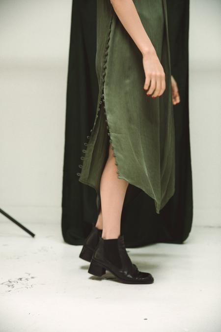 Ajaie Alaie Full Moon Dress - 2.0 Fern