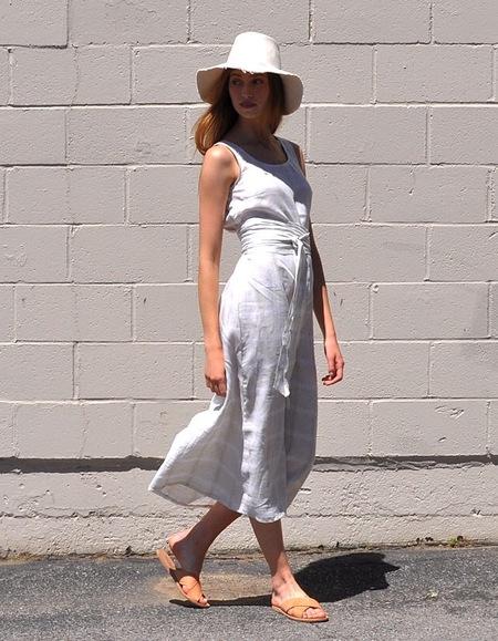 Pale Fire Goddess Dress