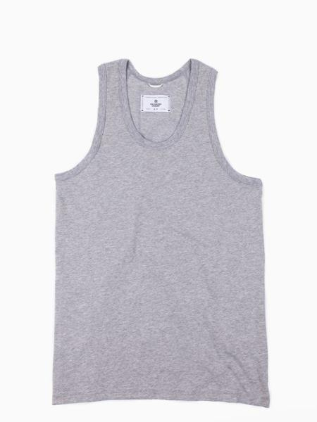 Reigning Champ Mesh Jersey Tank Top - Heather Grey