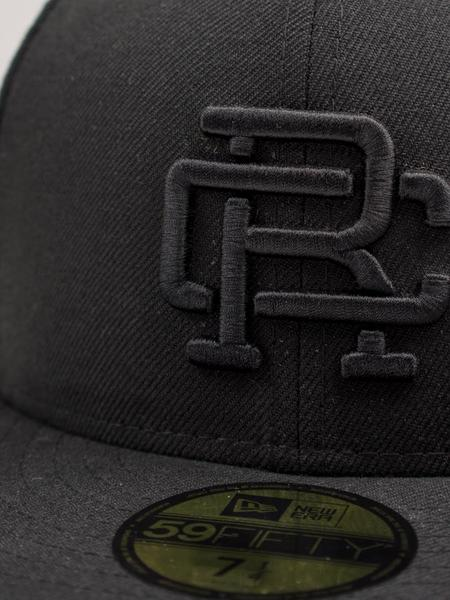 Reigning Champ New Era RC Embroidered Hat - Black/Black