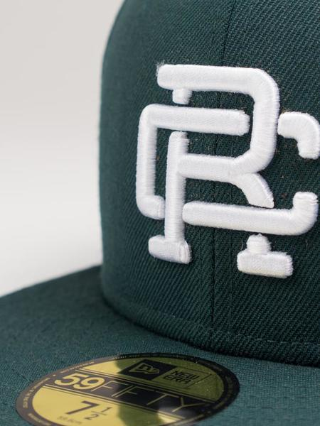 Reigning Champ New Era RC Embroidered Hat - Court Green/White