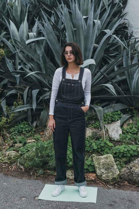 EVE DENIM Olympia Overall - Raw Denim