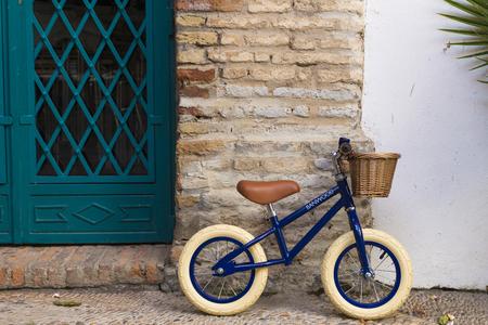Kids Banwood FIRST GO! Bike - Navy