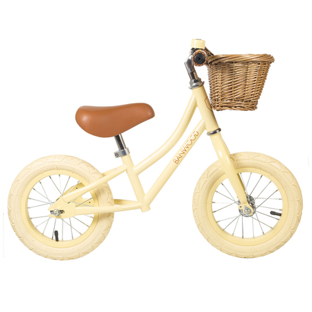 Kids Banwood FIRST GO! Bike - Vanilla