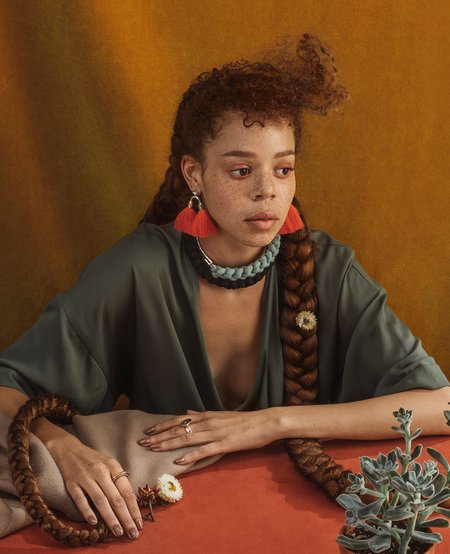 ORA-C jewelry ARIA Earrings - Sage