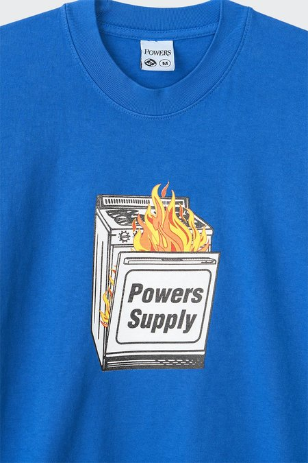 Powers Youth T-Shirt - Royal Blue