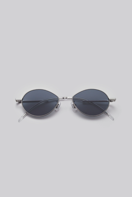 Gentle Monster Cobalt 02 (N) Sunglasses - Silver/Navy