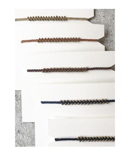YOOMEE Little Marrakech Bracelet - Silver/Black