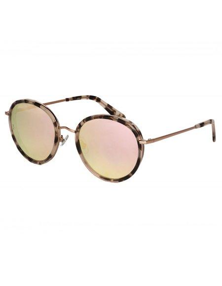 Wonderland Montclair Sunglasses - Rose Tortoise Rose Gold M CZ