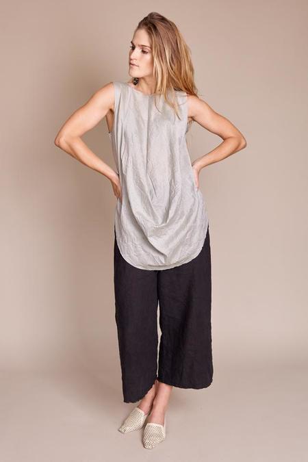 Vincetta Draped Silk Tunic