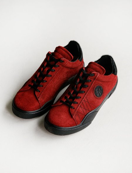 Eytys Wave Suede Sneakers - Rosso/Black