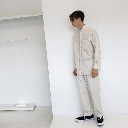Johan Man Vintage Button Down Shirt - Ivory
