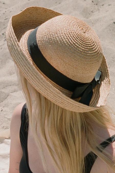 Casia Vintage Straw Summer Hat