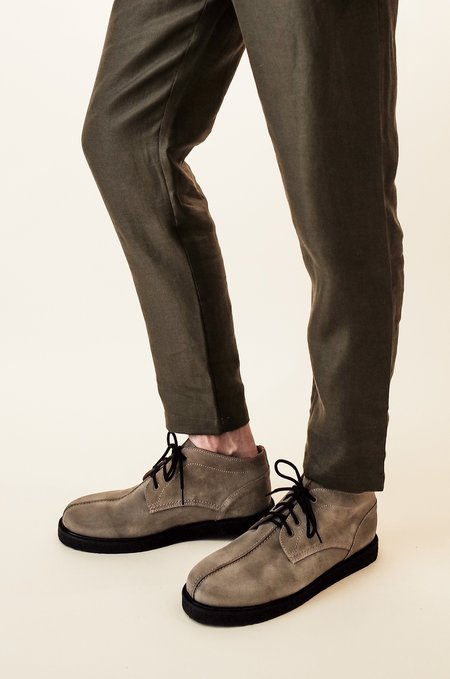 De Bonne Facture Relaxed Trousers - Forest Green