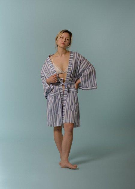 Kinda Sleepwear The Everyday Short Robe - Weightless Purples