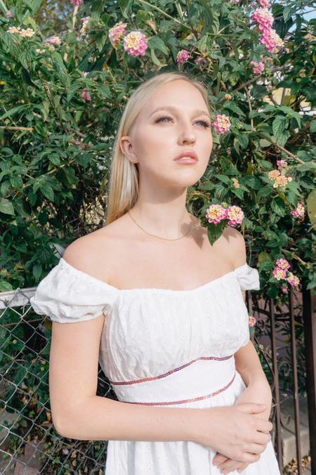 Fiola la Flore Coco dress - White
