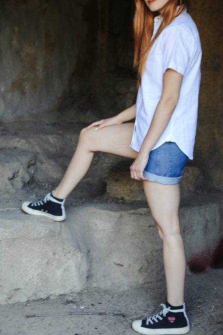 Tradlands 105 Lily Shirt - White