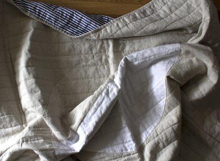 Caroline Z Hurley White Moon Quilt