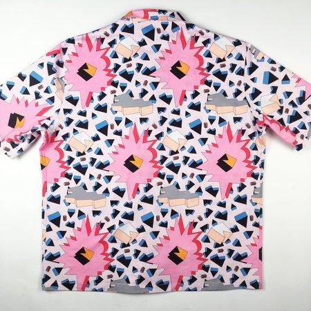 Tony Shirtmakers Original Tony Digital Graphic Camp Shirt