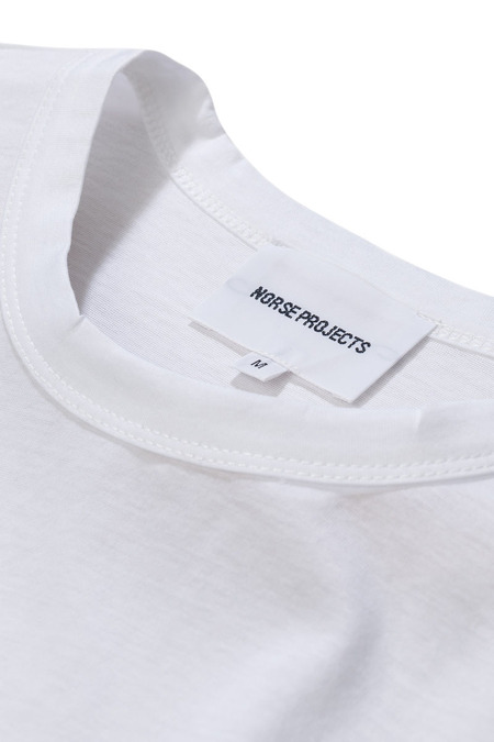 Norse Projects Jesper Mercerized T-Shirt - White