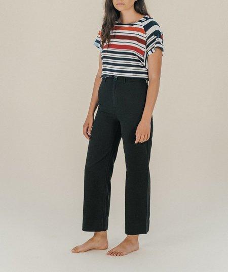 Suzie Winkle Jean Top - Stripe